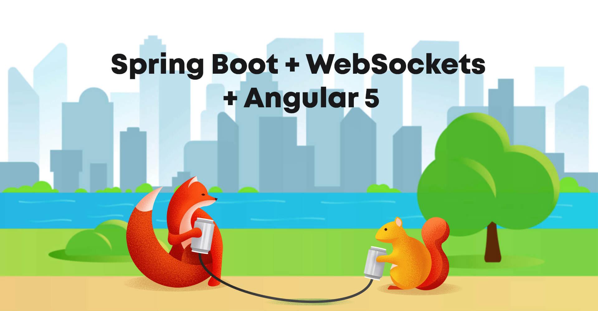 Spring Boot + WebSockets + Angular 5