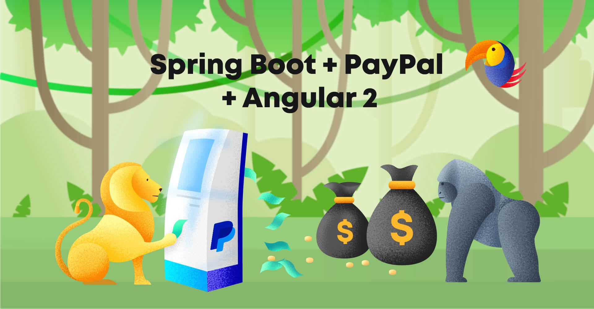 Spring Boot + PayPal + Angular 2